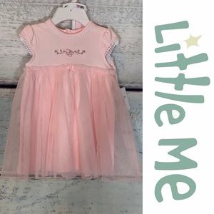 Little Me Dresses - Dainty Dress, Diaper Cover and Headband